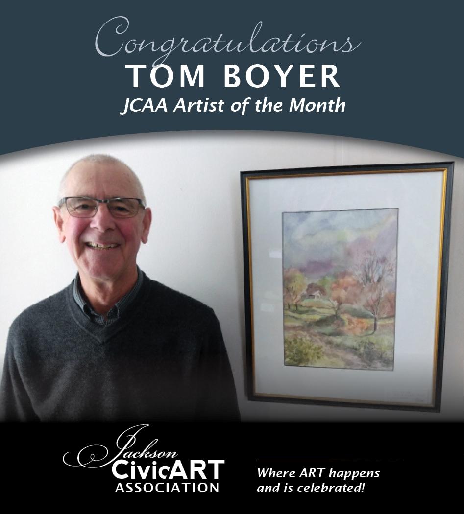 Tom Boyer – December 2016 Artist of the Month