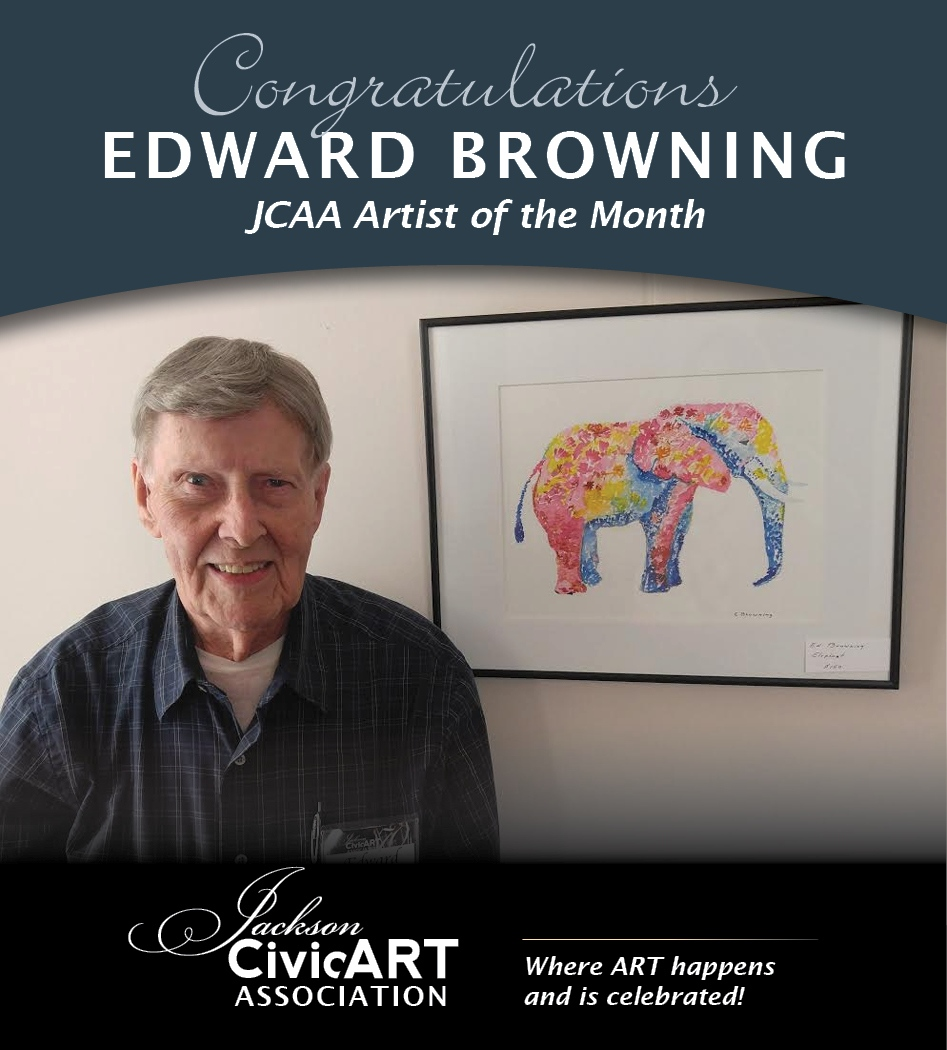 Ed Browning – November 2016 Artist of the Month