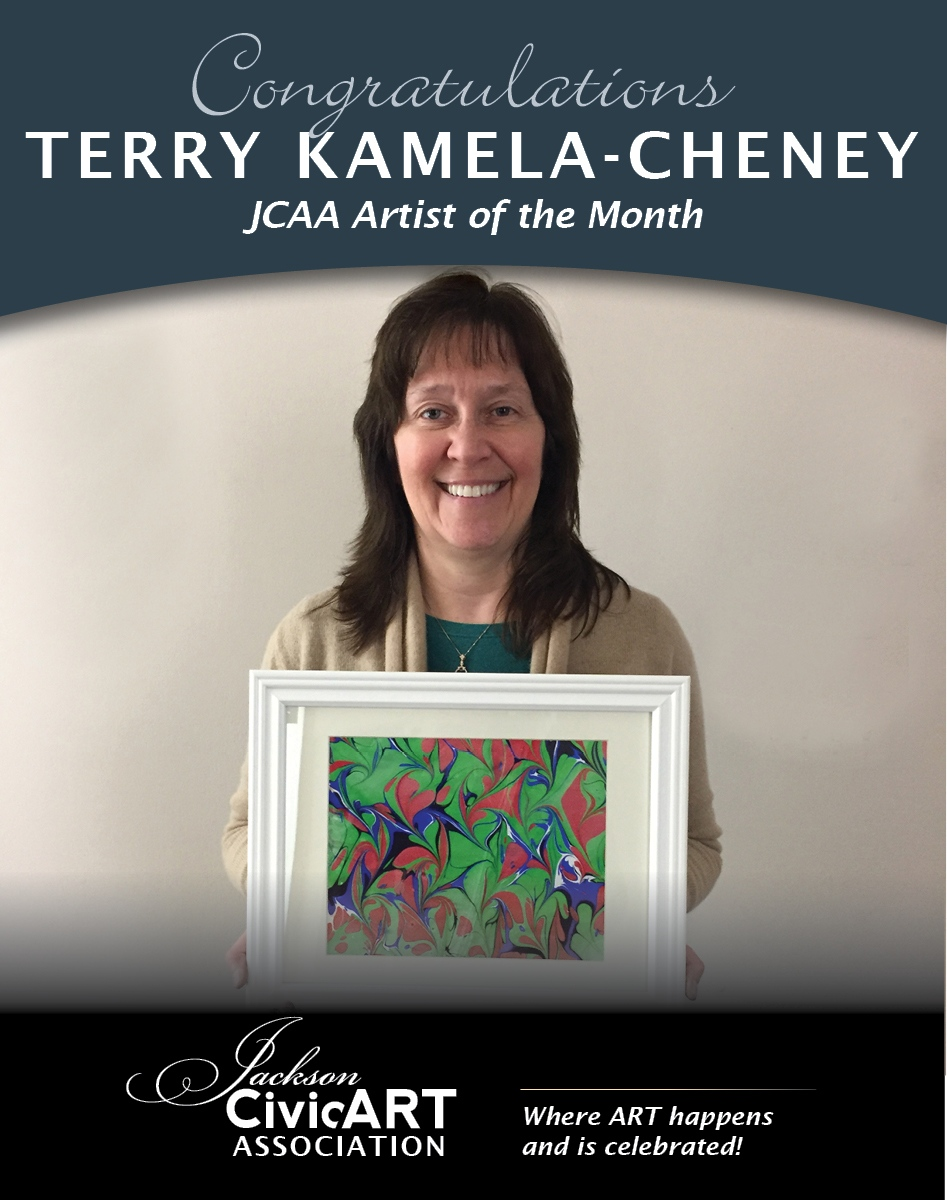 Terry Kamela Cheney – January 2017 Artist of the Month