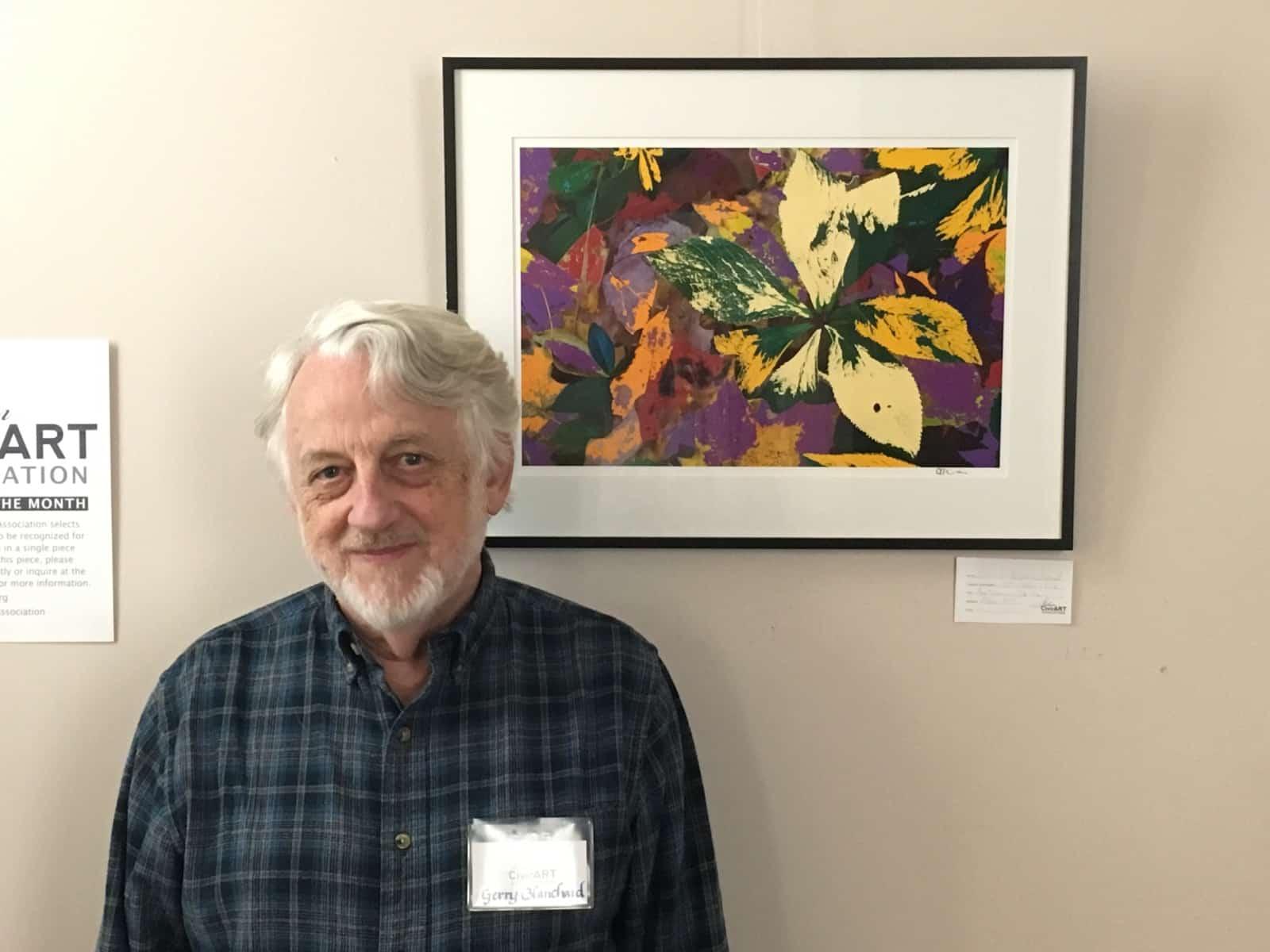 Gerry Blanchard – September 2018 Artist of the Month